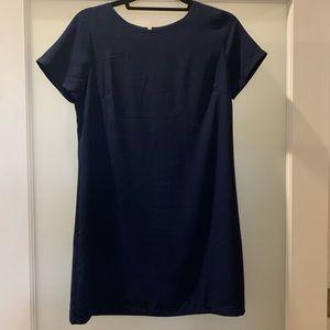 NWOT Lulus Navy Shift Dress